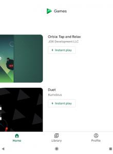 Google Play Игры - скриншот 7