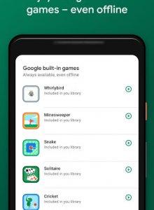 Google Play Игры - скриншот 2