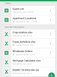 Google Таблицы - скриншот 2