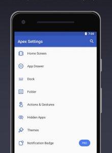 Apex Launcher - Тема, cкрыть, настраиваемый - скриншот 1