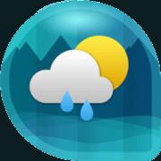 Погода и часы виджет для Андроид